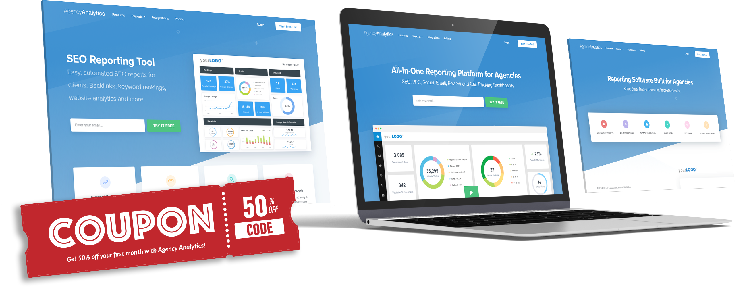 50% OFF Agency Analytics Coupon Code